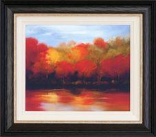Adding a liner to a canvas art piece :) Custom framing at #JoAnn: http://www.joann.com/customframing/ @Larson-Juhl