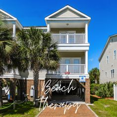 Sometimes you need or just want some Beach Therapy. With great rates available, go ahead and book your upcoming fall vacation at this five-bedroom, four-and-half-bath beach house. It's one of our newest vacation rentals in Surfside Beach. This home features a private pool and sleeps 14 with ease.