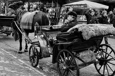 Waiting for job by Milan Cernak Milan, Transportation, Waiting, Black And White, Photography, Black White, Blanco Y Negro, Photograph, Fotografie
