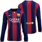 For Sale - BNWT Nike 2014/15 FC BARCELONA BARCA Home LS Soccer Jersey Football Shirt Trikot - See More at http://sprtz.us/BarcelonaEBay