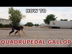 How To - Quadrupedal Gallop TUTORIAL - Parkour for Beginners - YouTube