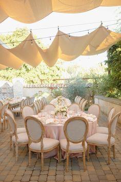 La Tavola Fine Linen Rental: Peau de Soie Champagne | Photography: Allyson Wiley Photography, Event Design: Kelly McLeskey-Dolata, Event Planning: Meren Dehaze, Floral Design: Vanda Floral Design