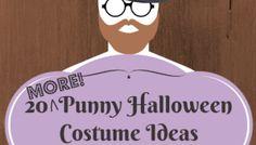20 MORE Punny Halloween Costume Ideas