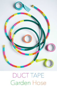 DIY Duct Tape Garden Hose