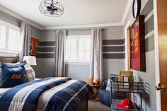 Varsity Sports Inspired Tween Boy Bedroom - Project Nursery