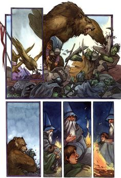David T. Wenzel - The Hobbit - Beorn the Bear