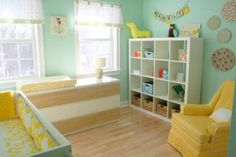 The Do's and Don'ts of Nursery Design and Decor: This bright and sunny nursery design is a definite DO.