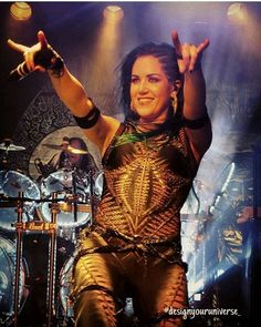 Image may contain: 1 person Chica Heavy Metal, Heavy Metal Girl, Heavy Metal Rock, Power Metal, Heavy Metal Music, Heavy Metal Bands, The Agonist, Ladies Of Metal, Alissa White