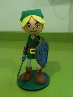 Link Foam Rubber Figure by anapeig.deviantart.com on @deviantART