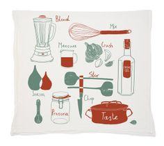 Claudia Pearson Kitchen Tea Towel