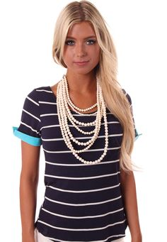 Lime Lush Boutique - Cream Seven Layer Bead Necklace, $28.99 (http://www.limelush.com/cream-seven-layer-bead-necklace/)