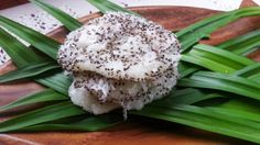 Delicious Filipino Dessert With Rice And Coconut