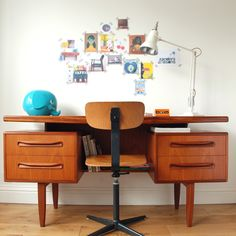 Hello beautiful G Plan desk. Would you like to come home with me?