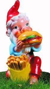 Fastfood für Zwerge, dann wars das mit der guten Figur....