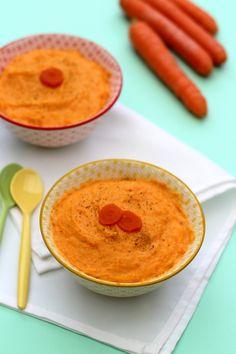 Purée de carottes au cumin très onctueuse