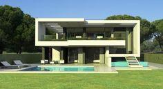 New modern villa in Lagos Algarve