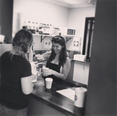 Always a friendly face at YWAM Townsville's cafe