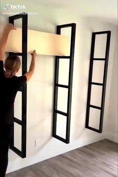 Home Room Design, Home Interior Design, Diy Crafts For Home Decor, Home Decor Furniture, Furniture Storage, Diy Furniture Videos, Minimalist Living, Minimalist Kitchen, House Rooms