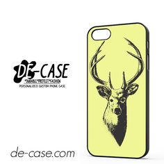 Deer Sketch DEAL-3131 Apple Phonecase Cover For Iphone 5 / Iphone 5S