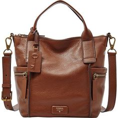 Image 1 of Fossil Emerson Medium Leather Satchel Fossil Handbags, Fall Handbags, Fossil Bags, Prada Handbags, Handbags On Sale, Luxury Handbags, Purses And Handbags, Fossil Purses, Travel Handbags