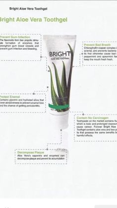 Forever Bright tooth gel, a natural whitener & flouride free. Great for all the family