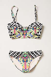9d3630440590a Anthropologie - Mara Hoffman Cosmic Hipsters Aztec Bikini, Summer Suits,  Cute Swimsuits, Cute