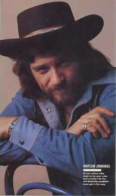 Best Country Music, Country Music Singers, Country Artists, Outlaw Country, Waylon Jennings, Honky Tonk, I Miss Him, Teenage Years, My Favorite Music