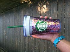 Glittery Starbucks Cup! <3