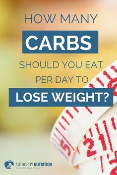 Reducing carbohydrates in the diet is a great way to lose weight and improve health. This article explains exactly how many carbs you should aim for each day. Learn more here: http://authoritynutrition.com/how-many-carbs-per-day-to-lose-weight/