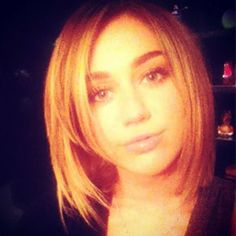 Can't believe I'm pinning Miley, but love the cut.