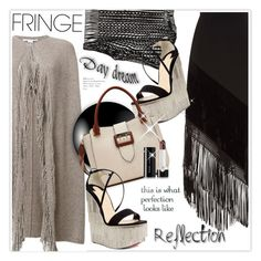 """Shimmy Shimmy: Fringe"" by stranjakivana ❤ liked on Polyvore featuring STELLA McCARTNEY, Andrew Gn, Christian Louboutin, Burberry, Marc Jacobs, fringe and polyvoreeditorial"