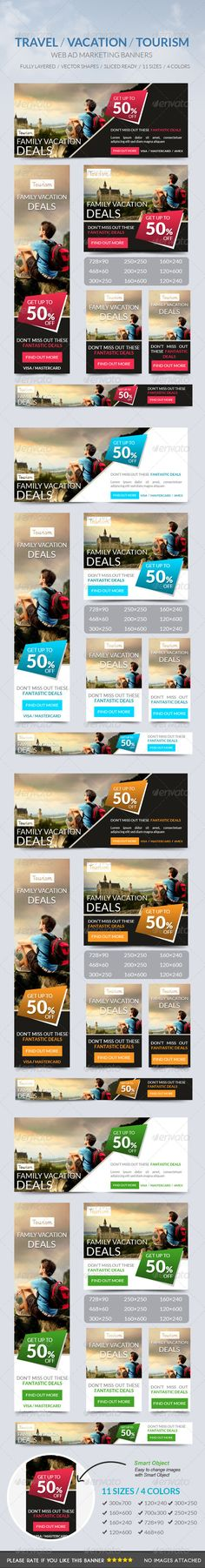 Travel Vacation Tourism Banner Template PSD | Buy and Download: http://graphicriver.net/item/travel-vacation-tourism-banner/7447186?WT.ac=category_thumb&WT.z_author=msrashdi&ref=ksioks