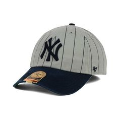 931734b44d5 New York Yankees MLB Pinstripe 47 FRANCHISE Cap (480 ZAR) ❤ liked on  Polyvore