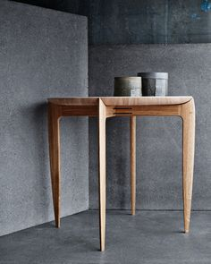Fritz Hansen side table.