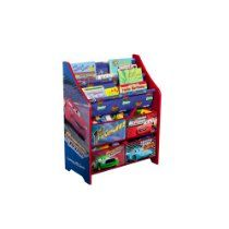 Disney Cars Book and Toy Organizer Kids Bench, Kids Play Table, Kids Sofa, Kids Storage Units, Toy Storage, Storage Ideas, Creative Storage, Storage Solutions, Kids Toy Boxes