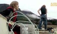 Bear rocking the boat and pushing Bam Bam's buttons...Alaskan Bush People.