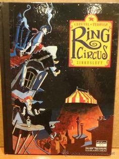 RING CIRCUS. ZIRKUSLUFT. CHAUVEL - PEDROSA. ED / SALLECK. EDICIÓN ALEMANA - 1998. COMO NUEVO.