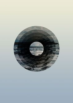 Creative Graphic, Sea, Astral, Ocean, and Sky image ideas & inspiration on Designspiration Graphic Design Illustration, Graphic Art, Illustration Art, Design Graphique, Art Graphique, Graphisches Design, Circle Graphic Design, Design Poster, Grafik Design
