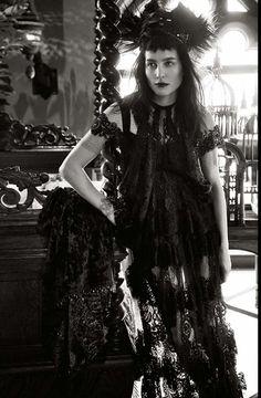 Tabitha Simmons by Craig McDean for Vogue Italia