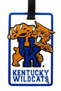 Kentucky Wildcats - NCAA Soft Luggage Bag Tag by aminco. Save 44 Off!. $8.95. Attractive laser cut rubber luggage tag with Kentucky Wildcats colors and logo. Reverse side contains clear window housing your contact information.