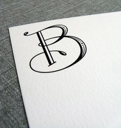 Tailored: One letter Monograms