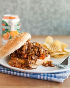 """A few weeks ago, I opened my great grandmother's church cookbook at random and found myself looking at a dog-eared recipe for """"Untidy Josephs"""" scrawled with notes. I quickly realized that these were the long-lost sloppy joes of my childhood, and just as quickly, I knew I had to have them for dinner."""