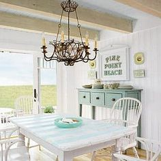 Airy and serene, the way a beach cottage should be