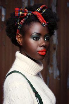 "blackandkillingit: ""elleaimemondiale: "" Marta Bernadin - Angolan Model "" BGKI - the #1 website to view fashionable & stylish black girls shopBGKI today """
