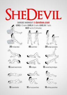 SheDevil Workout - Normal