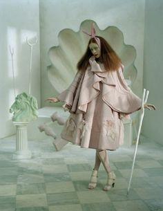 A Magic World - Alice Gibb - January 2008 - Vogue Italia - Styling Jacob K - Tim Walker Photography