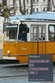Sightseeing in Budapest mit der Straßenbahnlinie 2 #ungarn #budapest #sightseeing #strassenbahn Budapest, Bus Driver, Statue Of Libery, Forts, Hungary