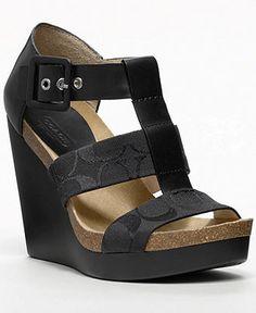 COACH LEDA WEDGE - Espadrilles & Wedges - Shoes - Macy's