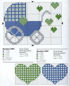 The most beautiful cross-stitch pattern - Knitting, Crochet Love Baby Cross Stitch Patterns, Cross Stitch For Kids, Mini Cross Stitch, Cross Stitch Heart, Cross Stitch Cards, Cross Stitch Borders, Cross Stitch Samplers, Hand Embroidery Patterns, Cross Stitch Designs
