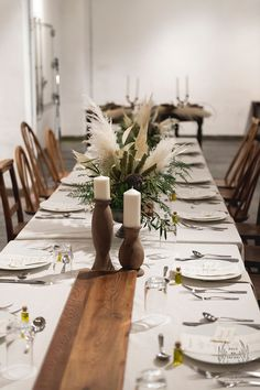 33 Best Floral Wedding Centerpieces Ever! Outdoor Wedding Centerpieces, Candle Centerpieces, Wedding Decoration, Long Table Wedding, Tent Wedding, Floral Wedding, Table Decorations, Beauty, Wedding Lighting